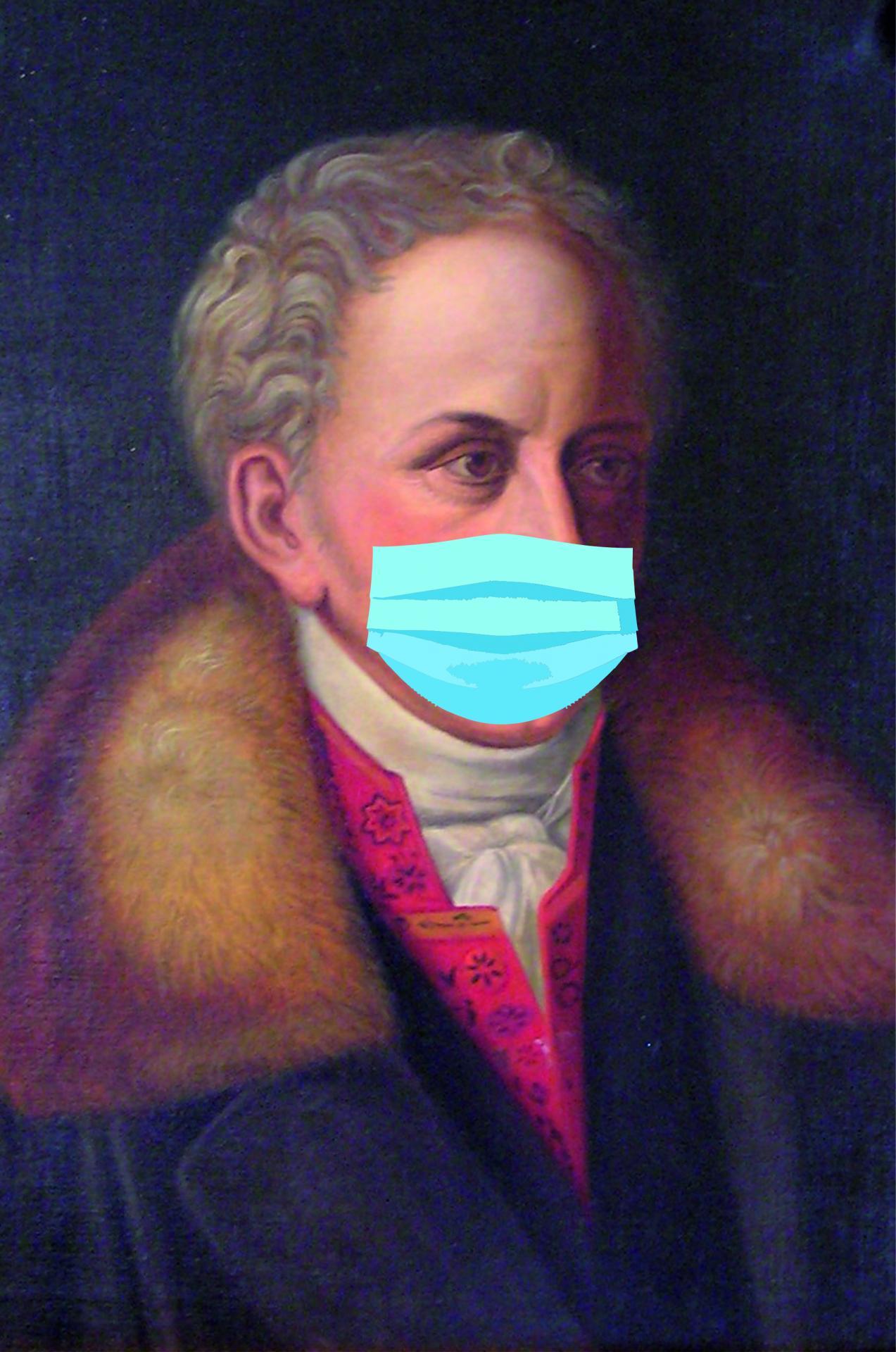 Friedrich Karl Groschlag von Dieburg in der Pandemie