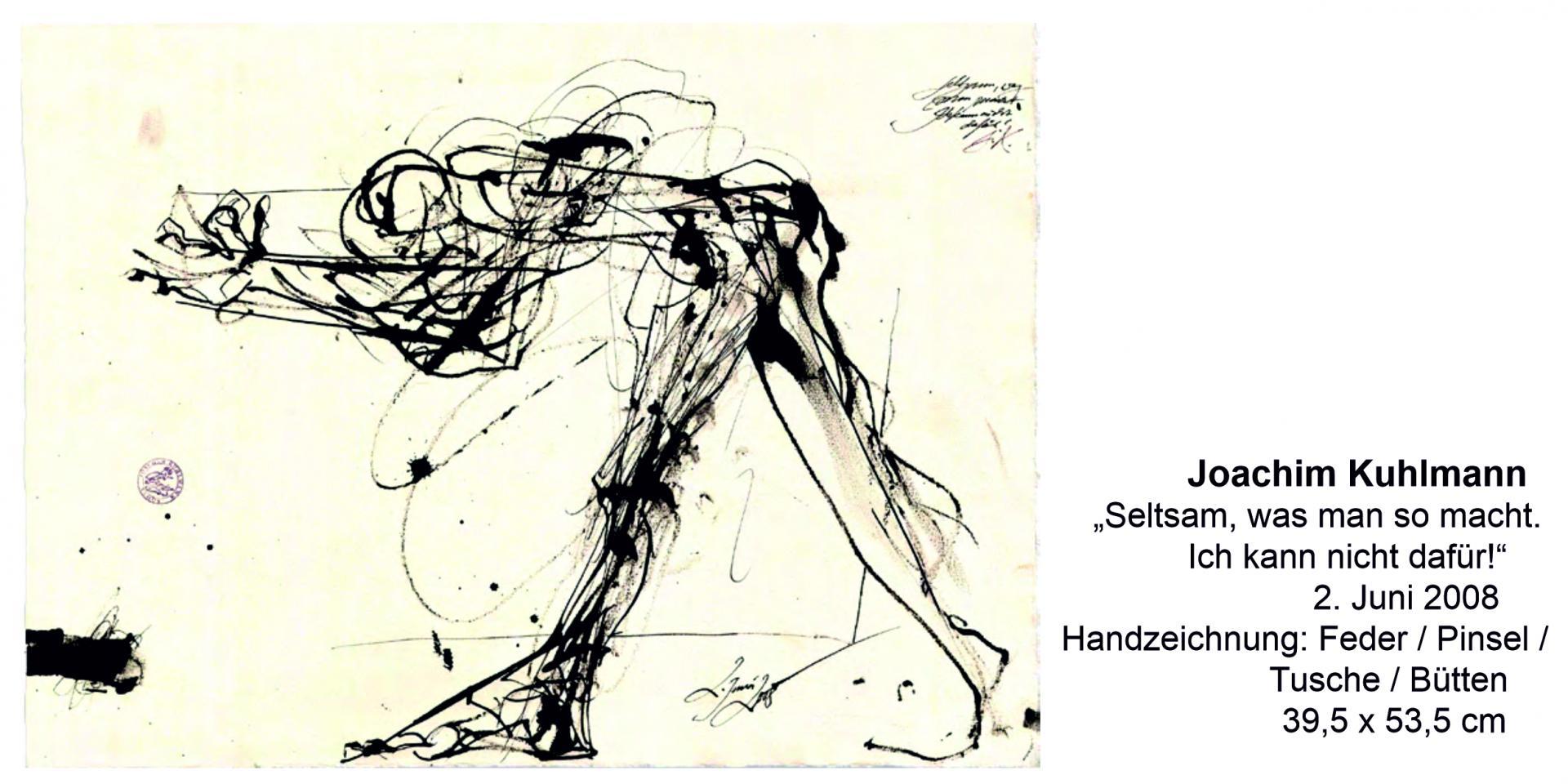 Joachim Kuhlmann Handzeichnung