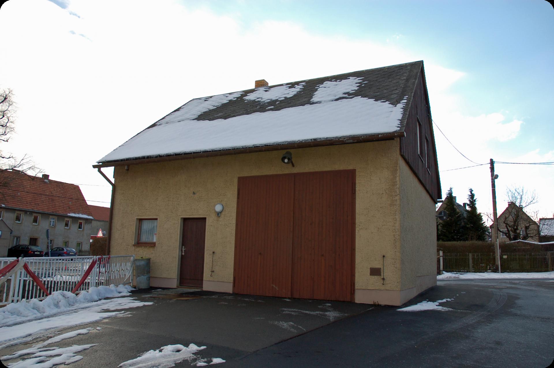 Gerätehaus Cunnersdorf