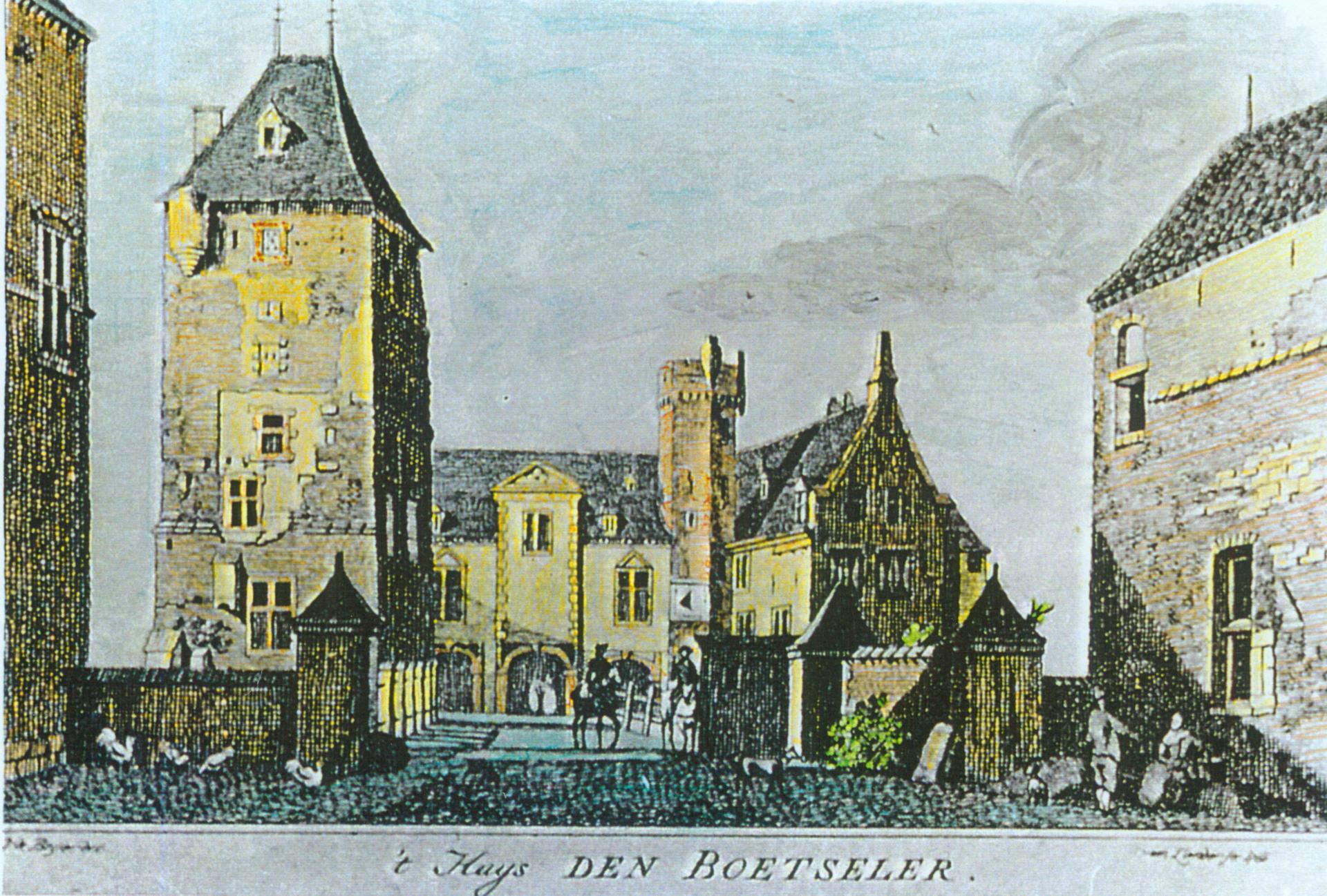 1734 Stich von Jan de Beijer von Südosten