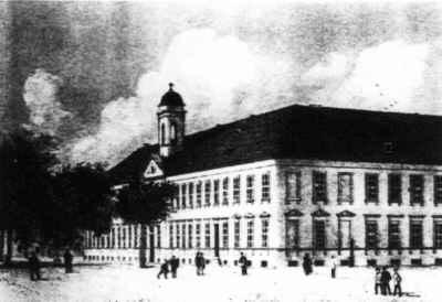 Historisches Bild des Alten Gymnasiums