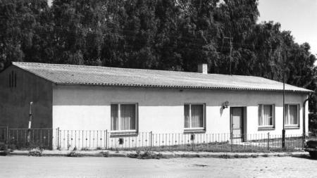 Das Anglerheim an der Peene (Foto von 1997)