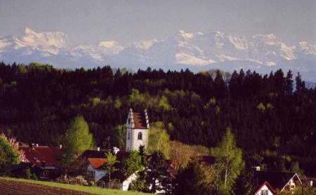 Vorstellung Großschönach mit Bergen