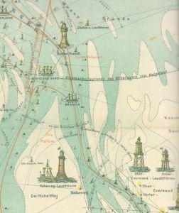 Ausschnitt alte Karte