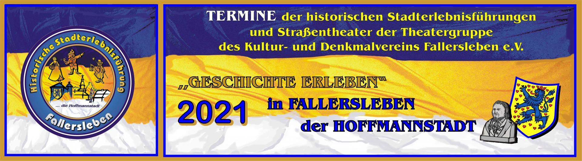 Banner Stadtführung 2021