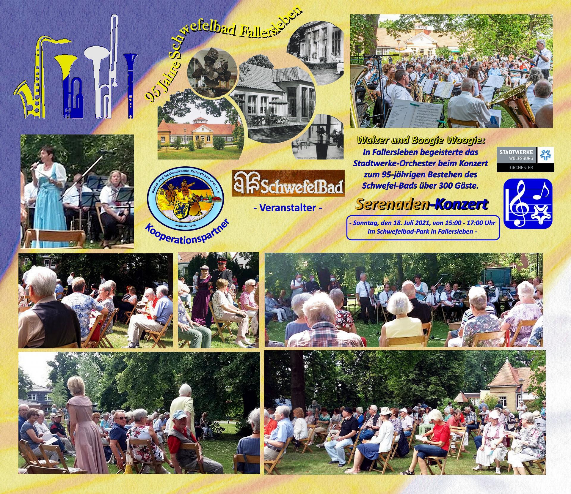 Serenadenkonzert Schwebadpark 2021