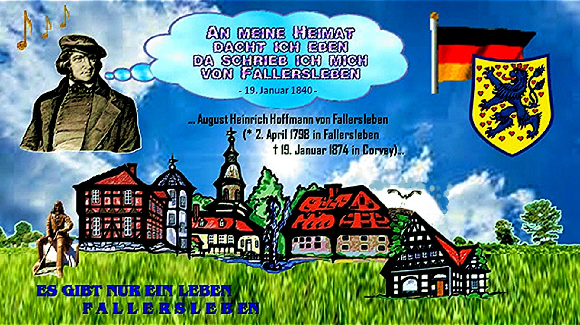 Heimat Hoffmann von Fallersleben