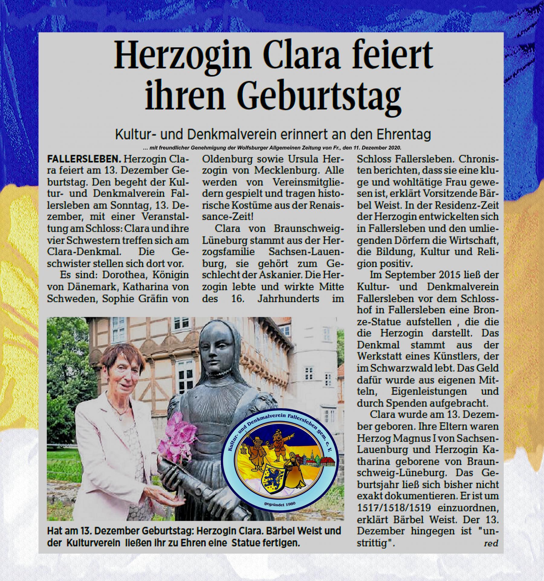 Claras Geburtstag