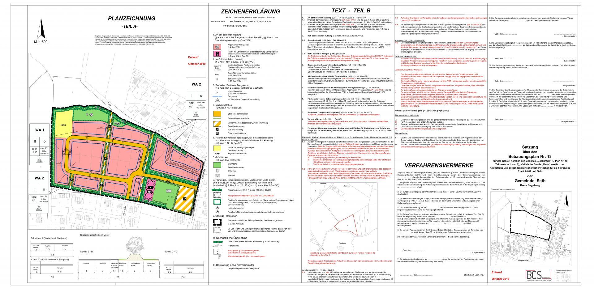 Entwurf Oktober 2019 B-Plan