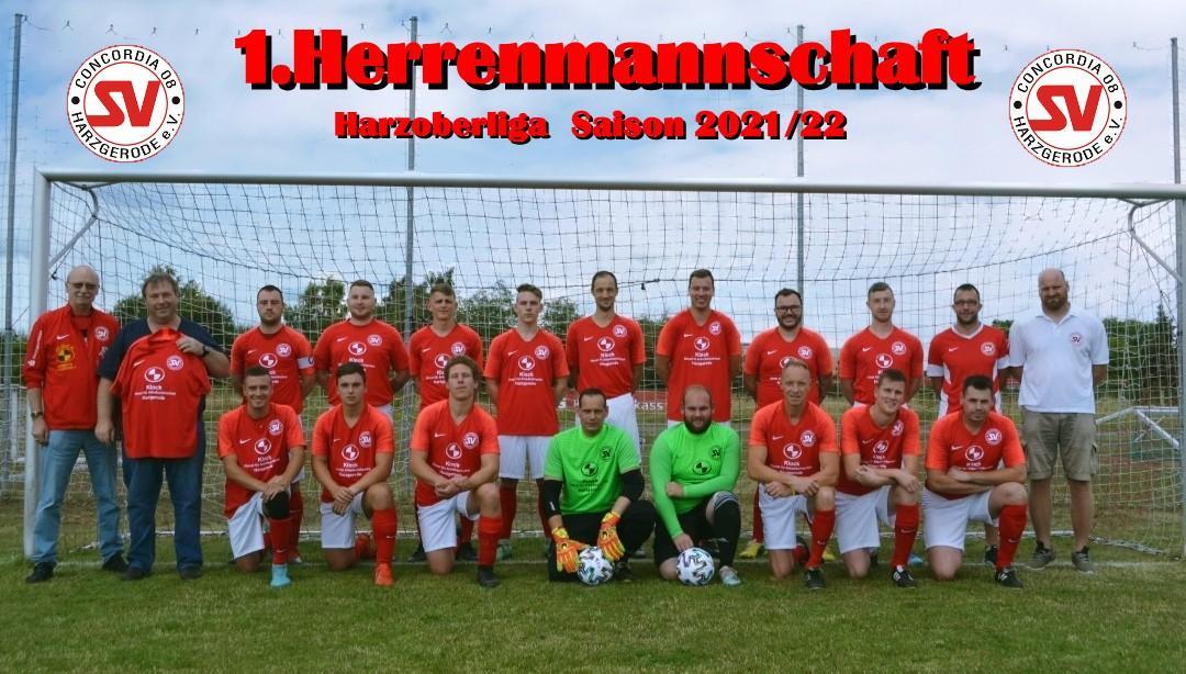 1.Herrenmannschaft Harzoberliga Saison 2021/22