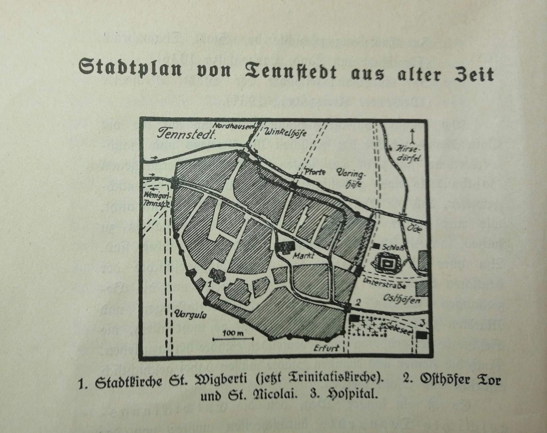 Alter Stadtplan