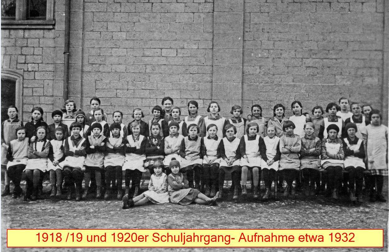 Schuljahrgang 1918/20