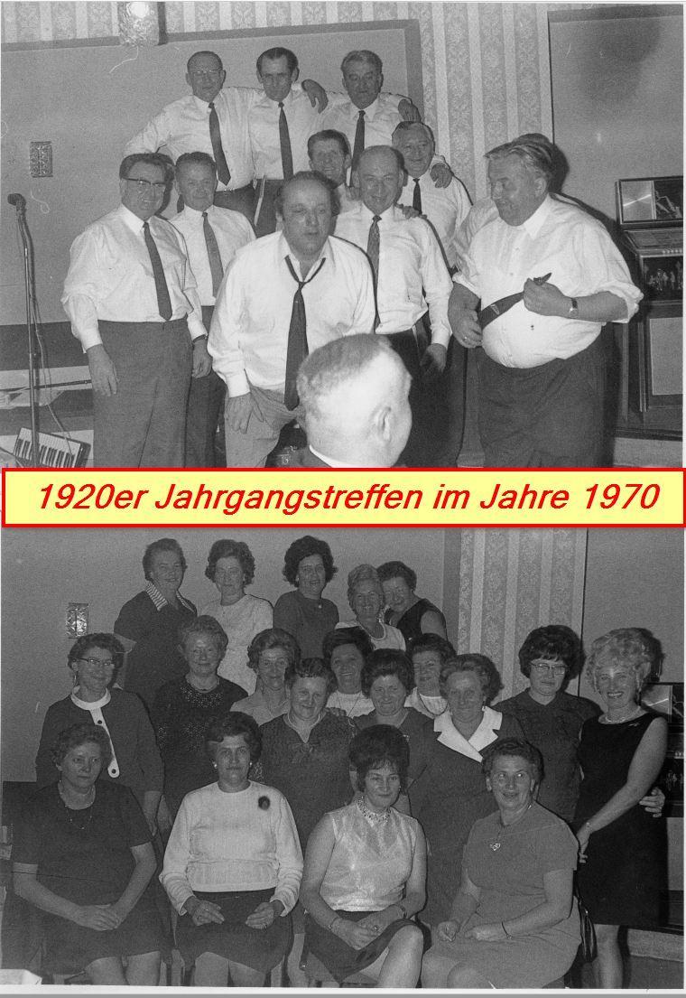 Jahrgangstreffen 20er 1970