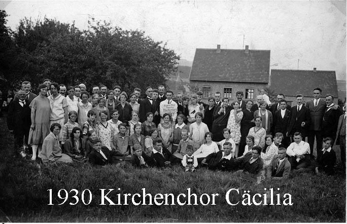 Kirchenchor 1930