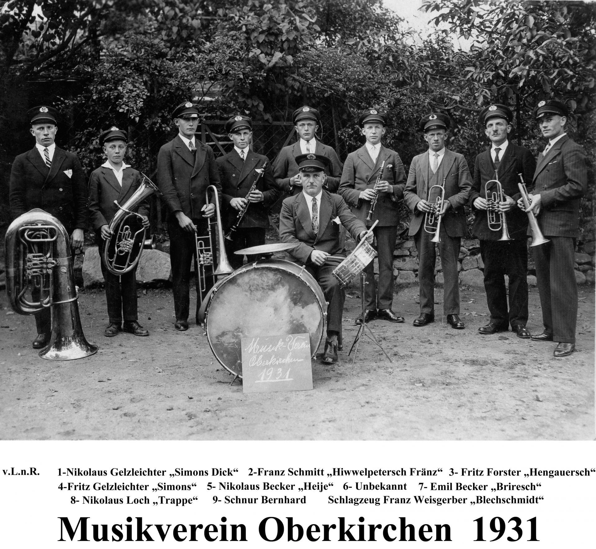 Musikverein OK 1931