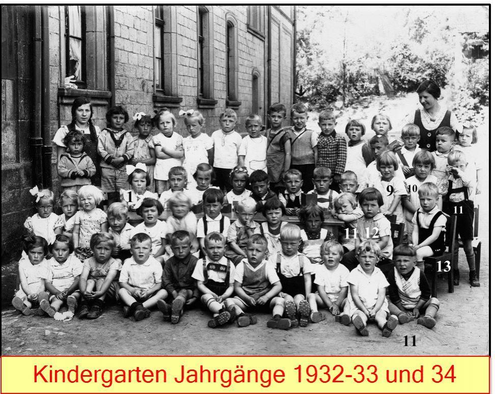 Kindergarten 1932-34