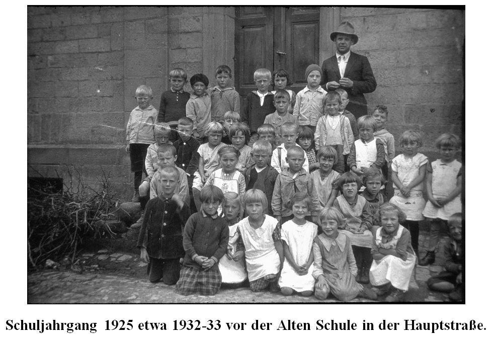 Schuljahrgang 1925