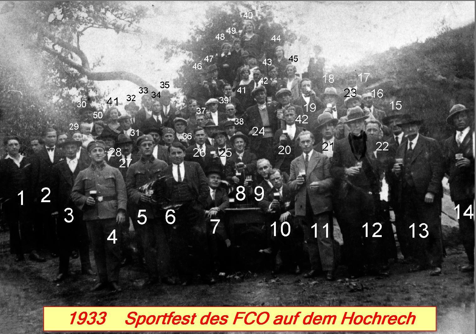 1933 Sportfest des FCO