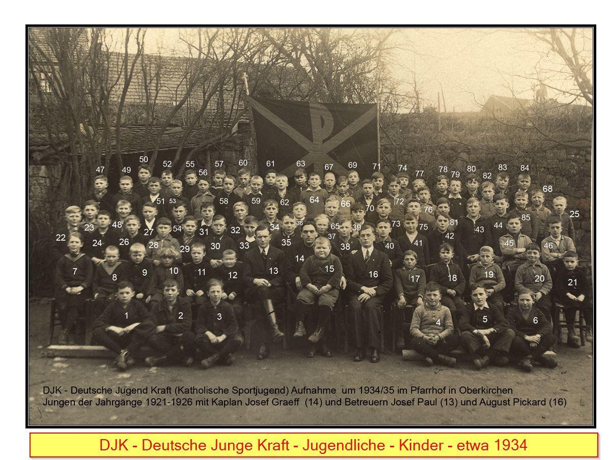 DJK 1934 Jugend