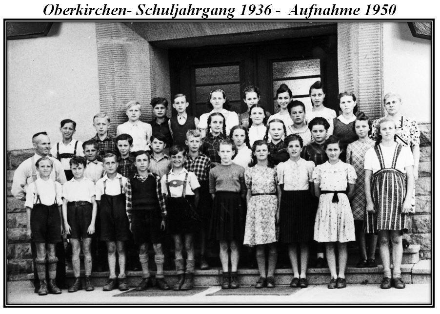 Schuljahrgang 1936