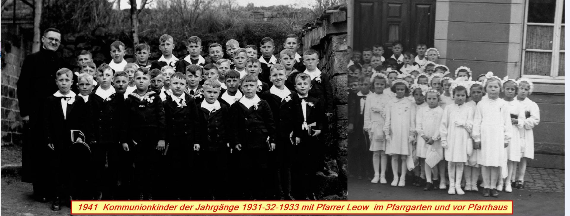 Kommunionsjahrgang 1933