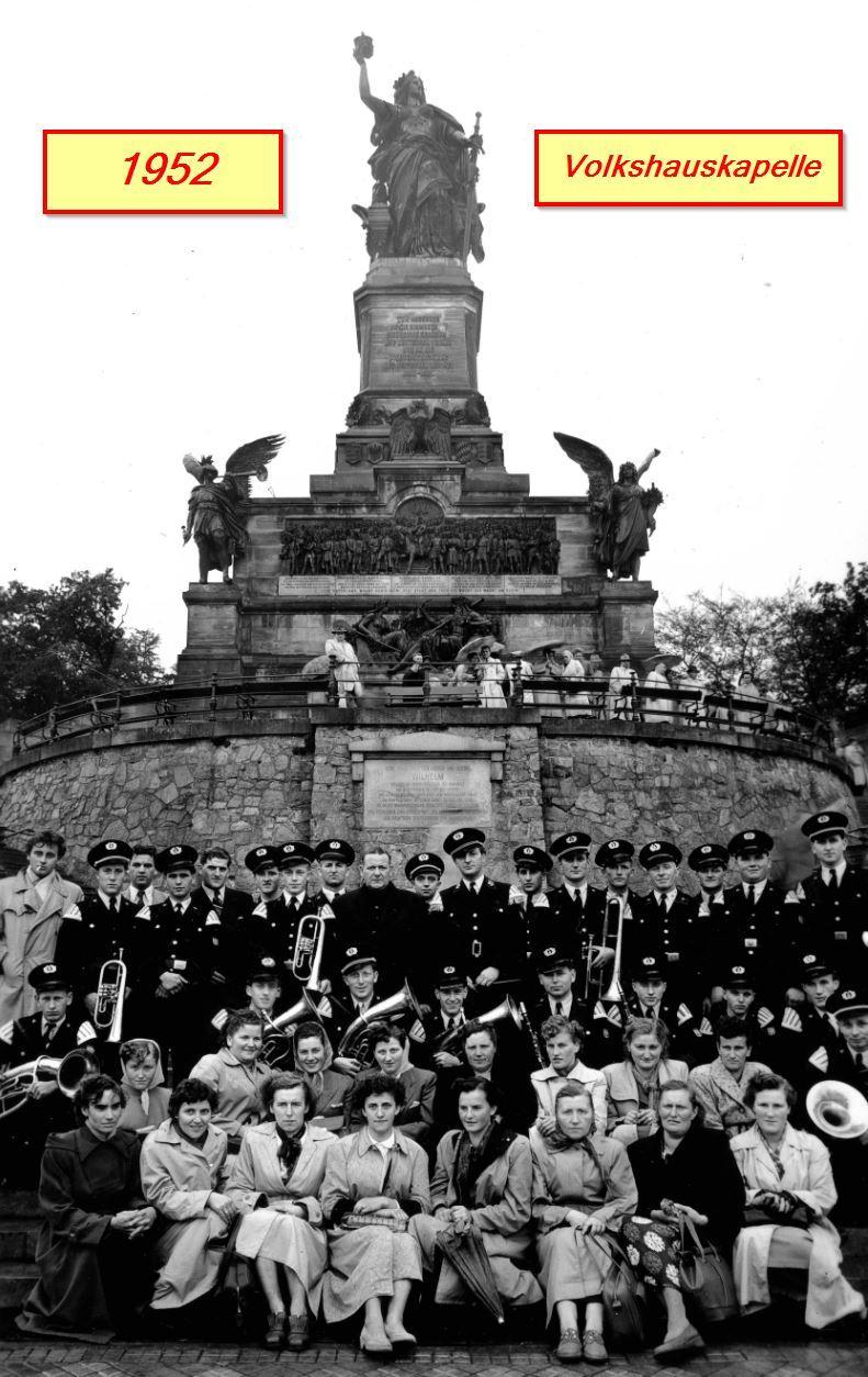 Volkshauskapelle 1952-Ausflug