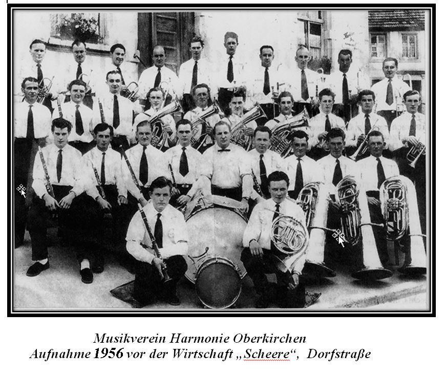 Musikverein Harmonie 1956