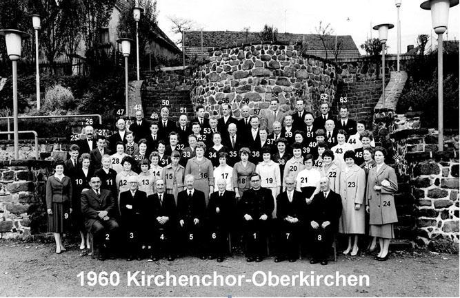 Kirchenchor 1960