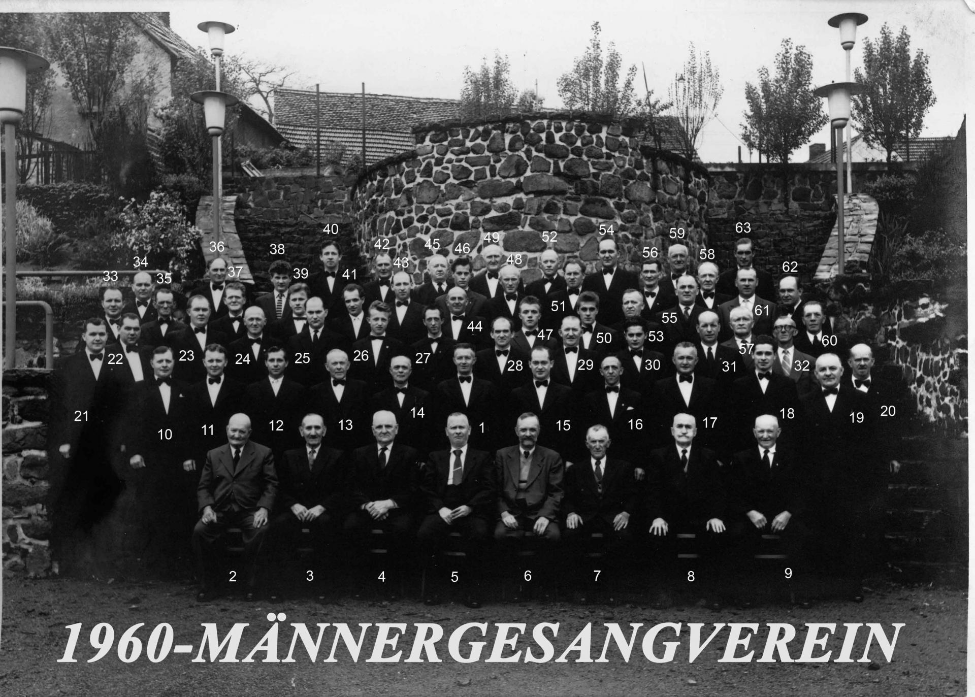 Männergesangsverein 1960
