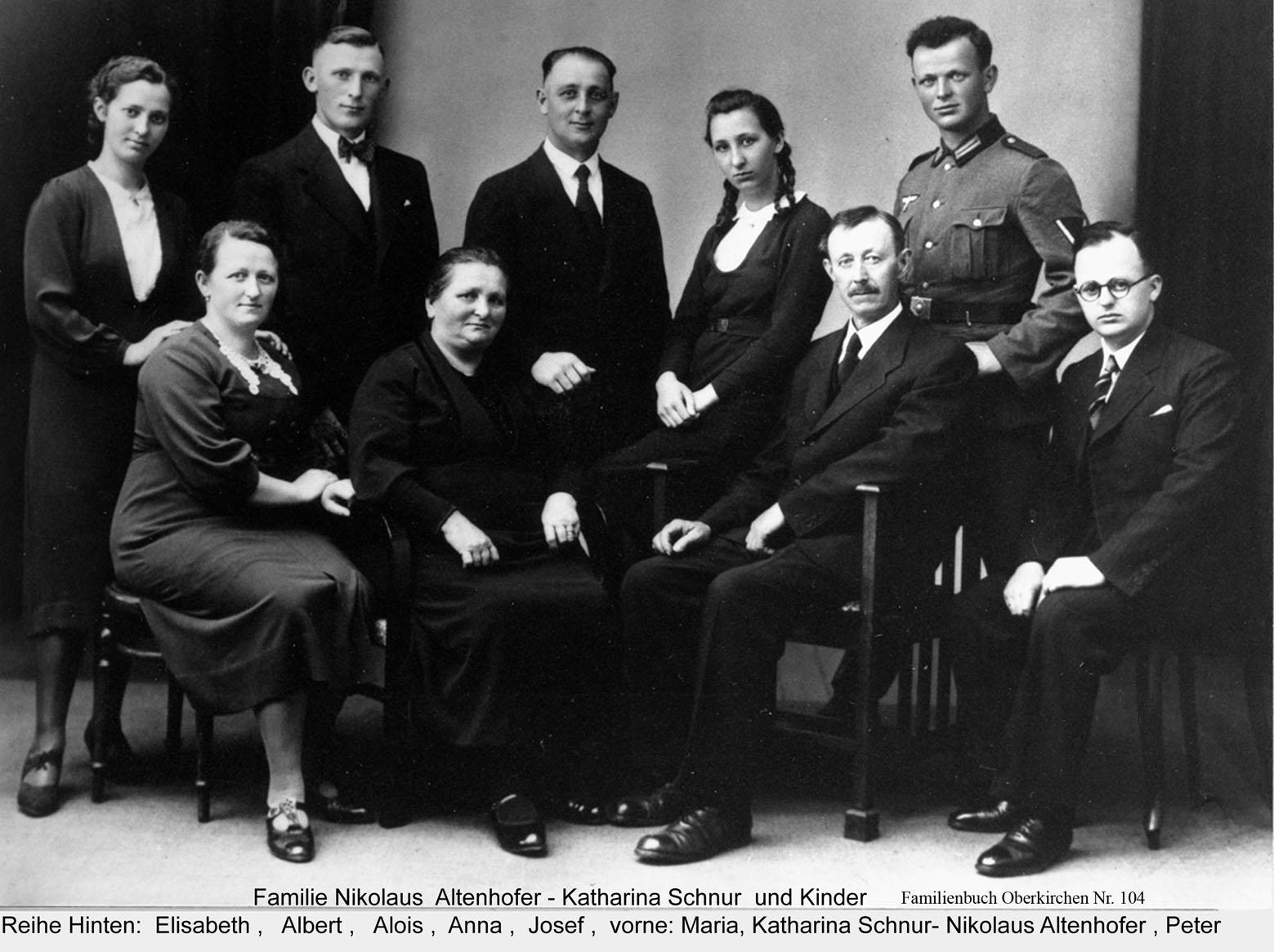 Familie Altenhofer