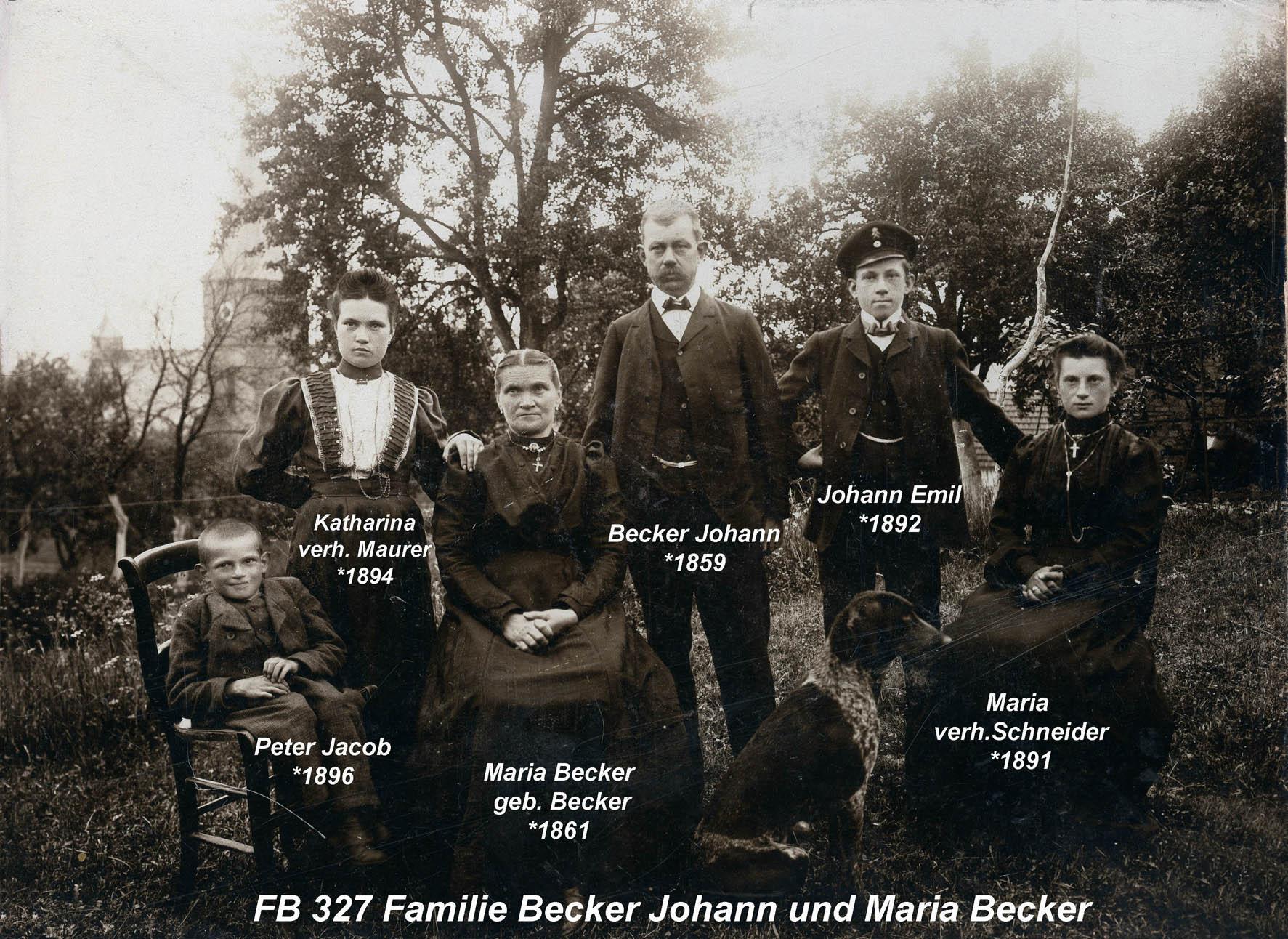 Familie Becker 2
