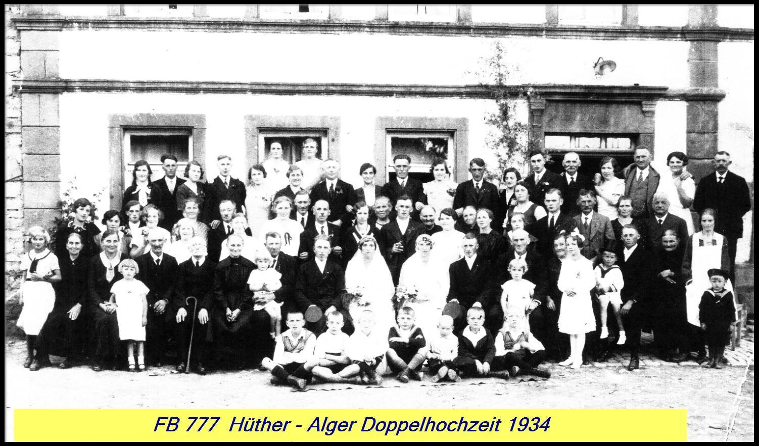 Doppelhochzeit Hüther/Alger