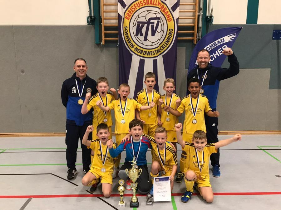 Futsal Sieger E-Junioren KL der Schweriner SC 2.