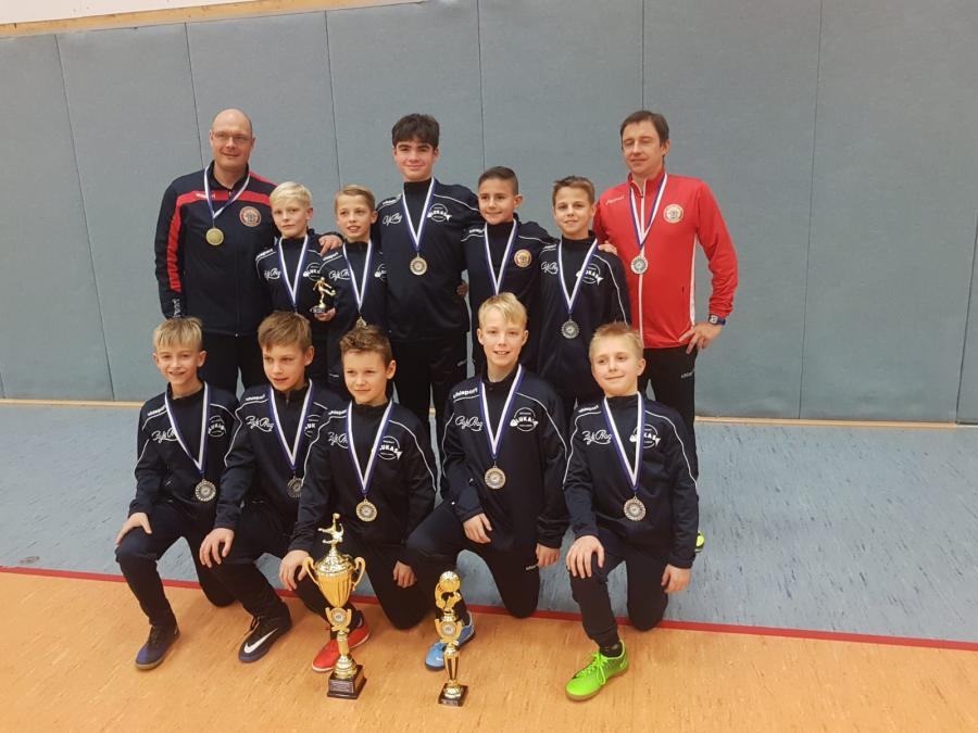 Futsal Hallenmeister bei den D-Junioren KOL: Mecklenburg Schwerin III