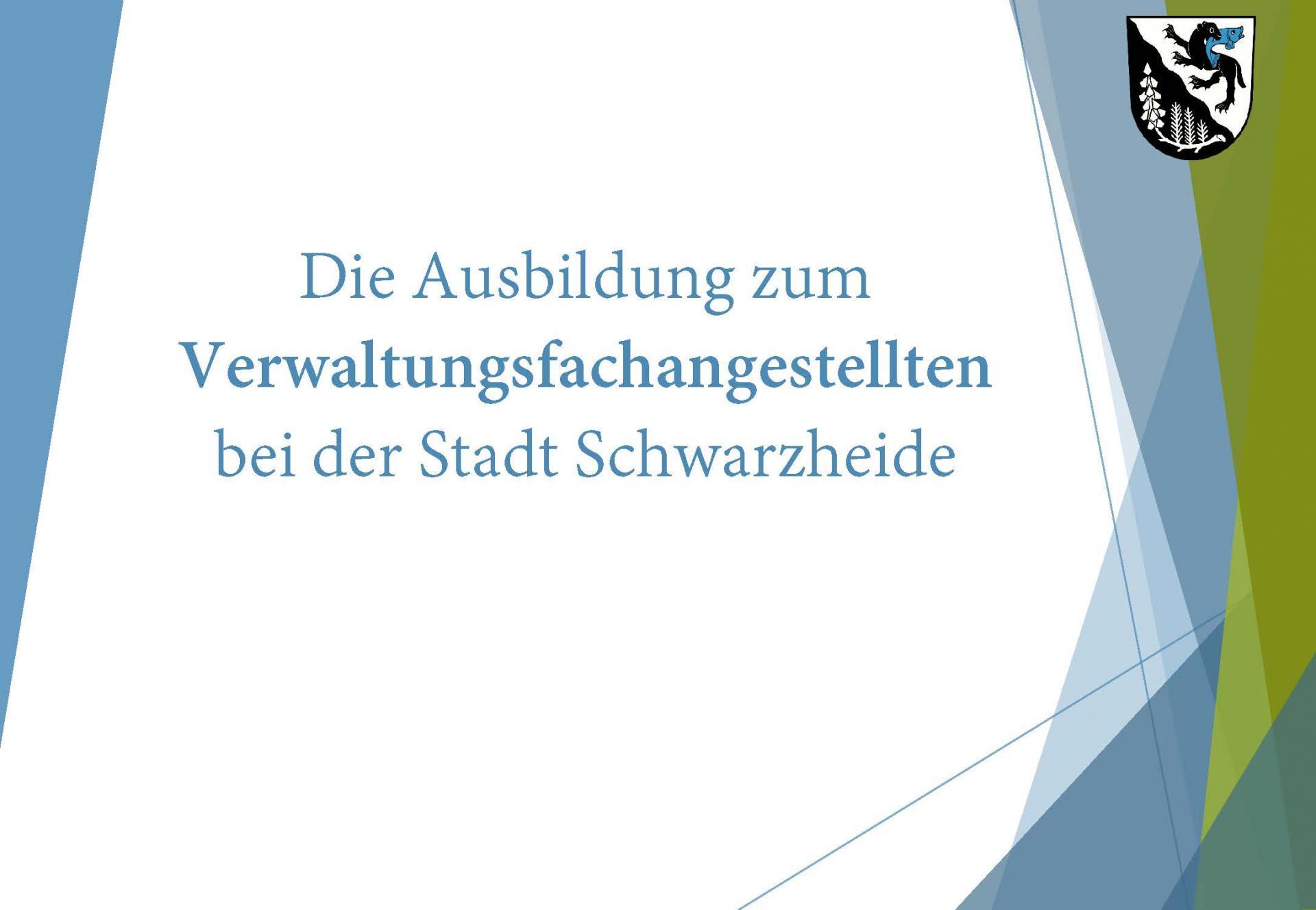 Ausbildung Stadt Schwarzhedie