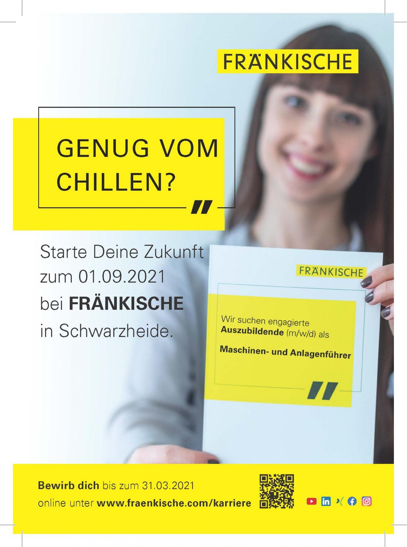 Ausbildungsanzeige SWH 2021_Wochenkurier