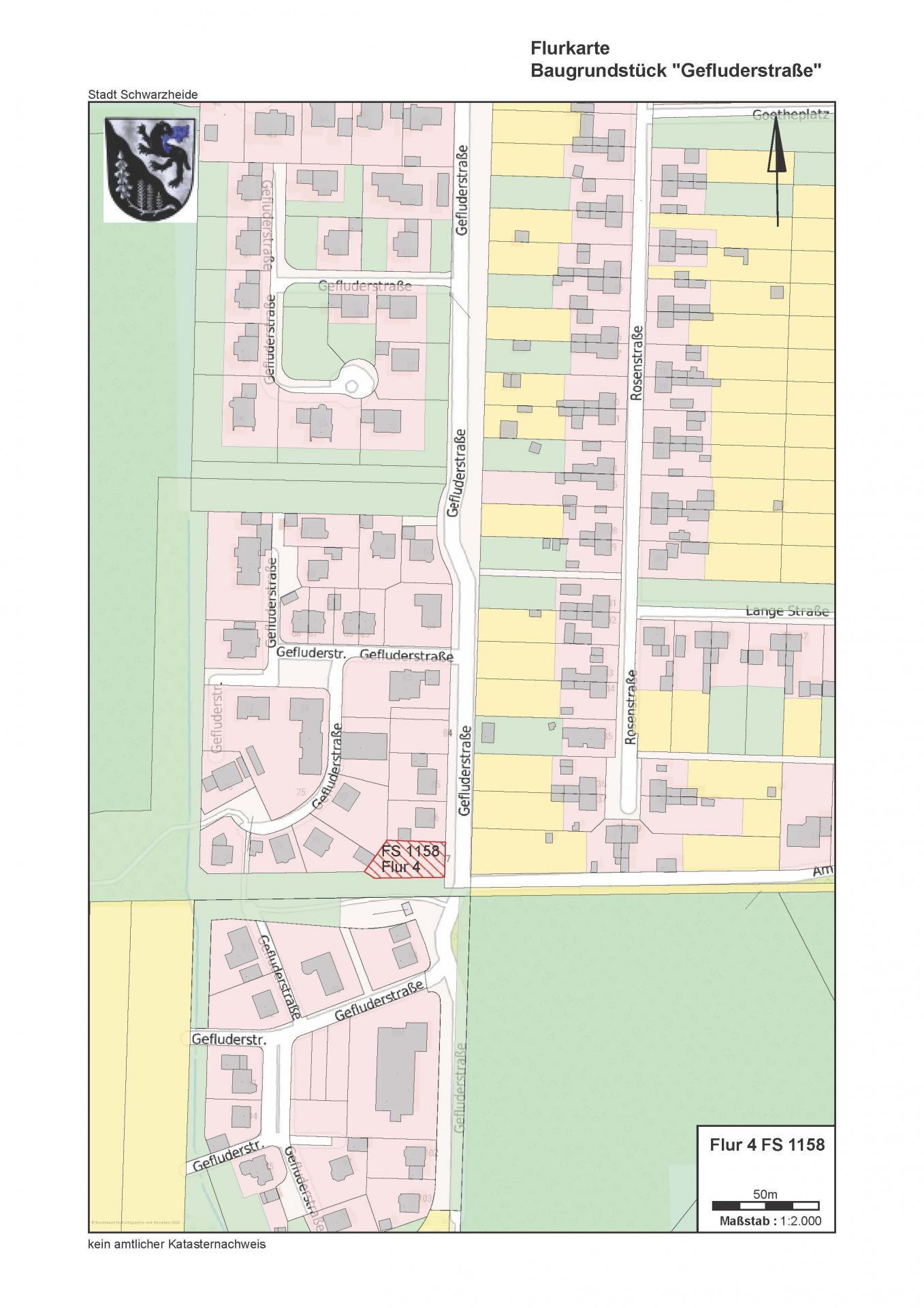 Gefluderstraße Lageplan