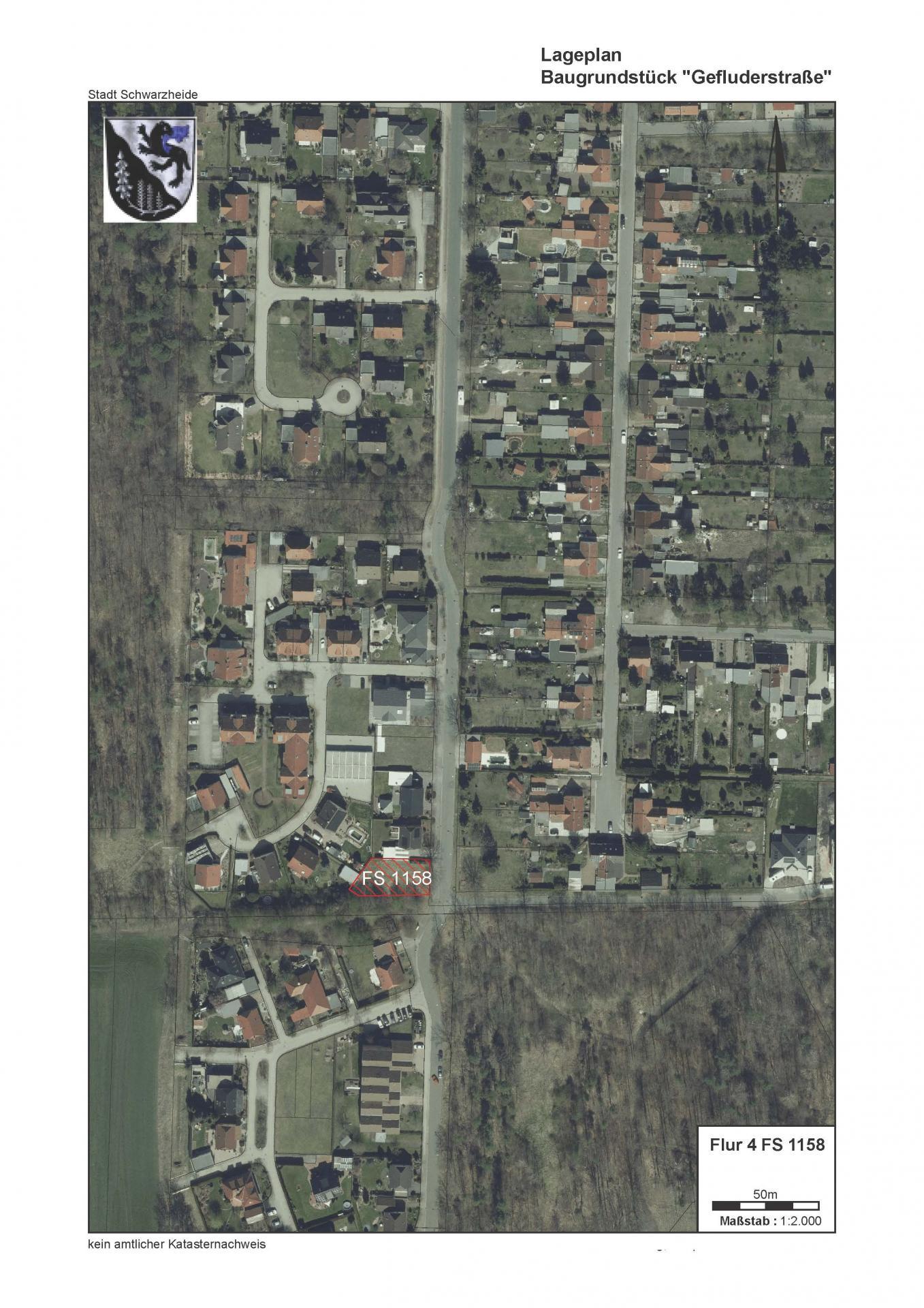 Baugrundstück Gefluderstraße Satellitenbild