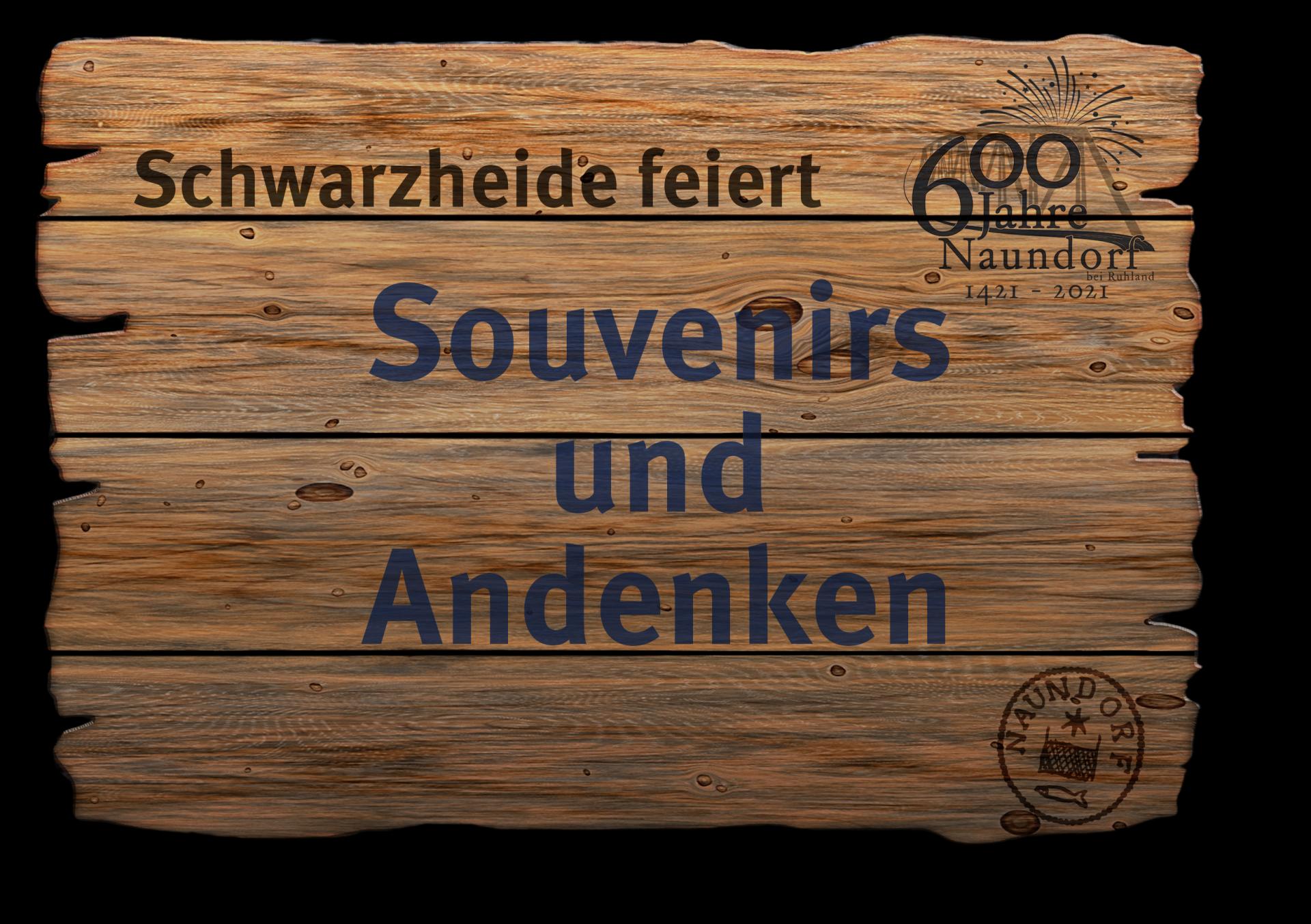 Jubi Schild Souvenirs