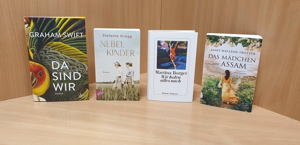 Neue Romane Juli