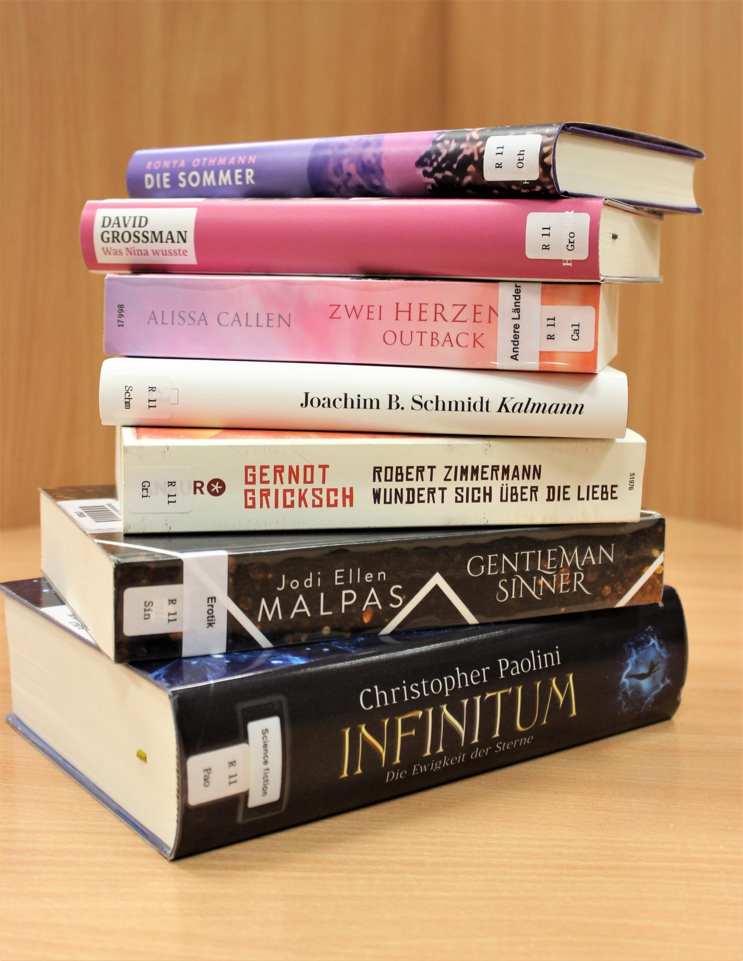 Neues im Oktober Romane