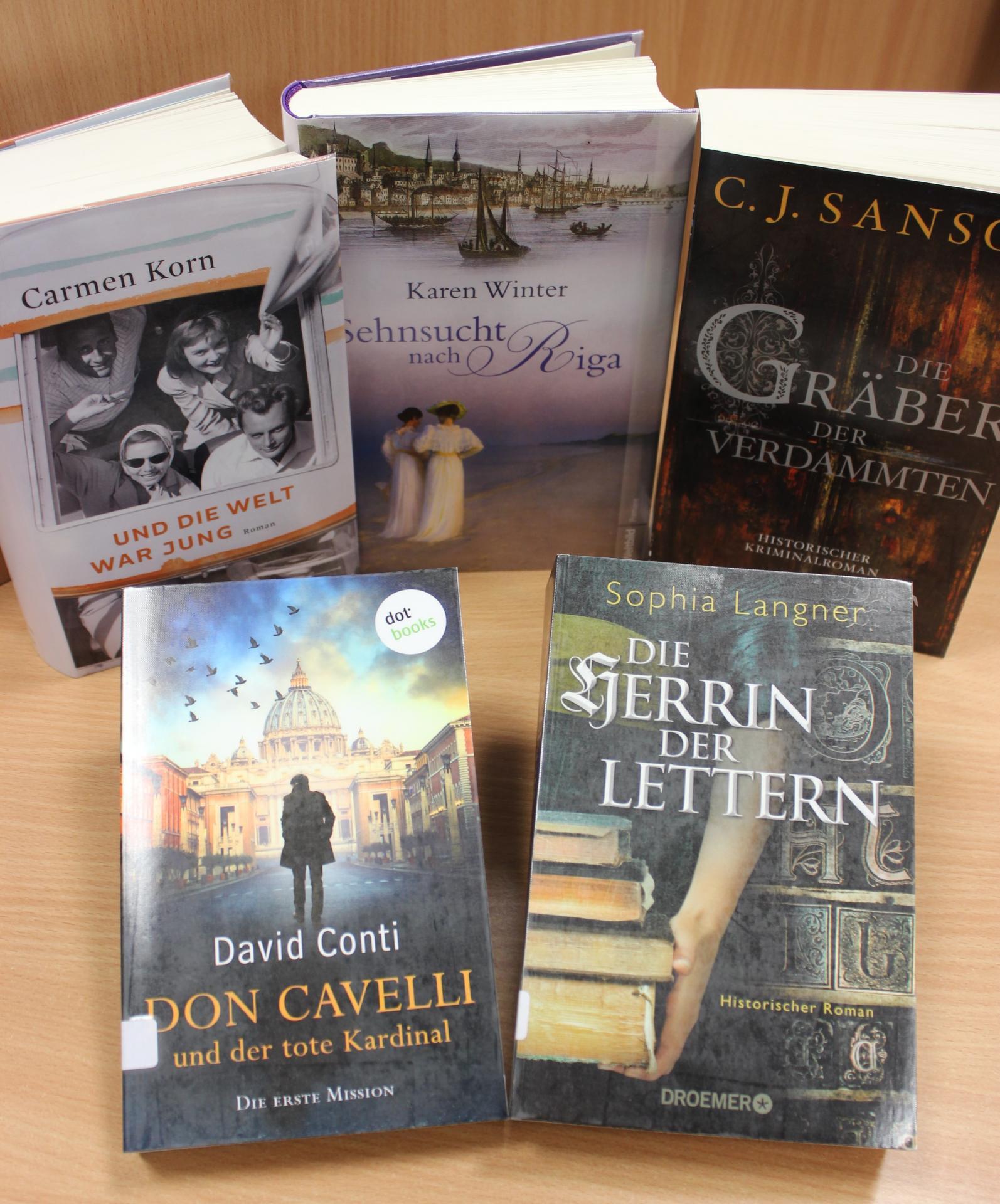 Neues im November Romane