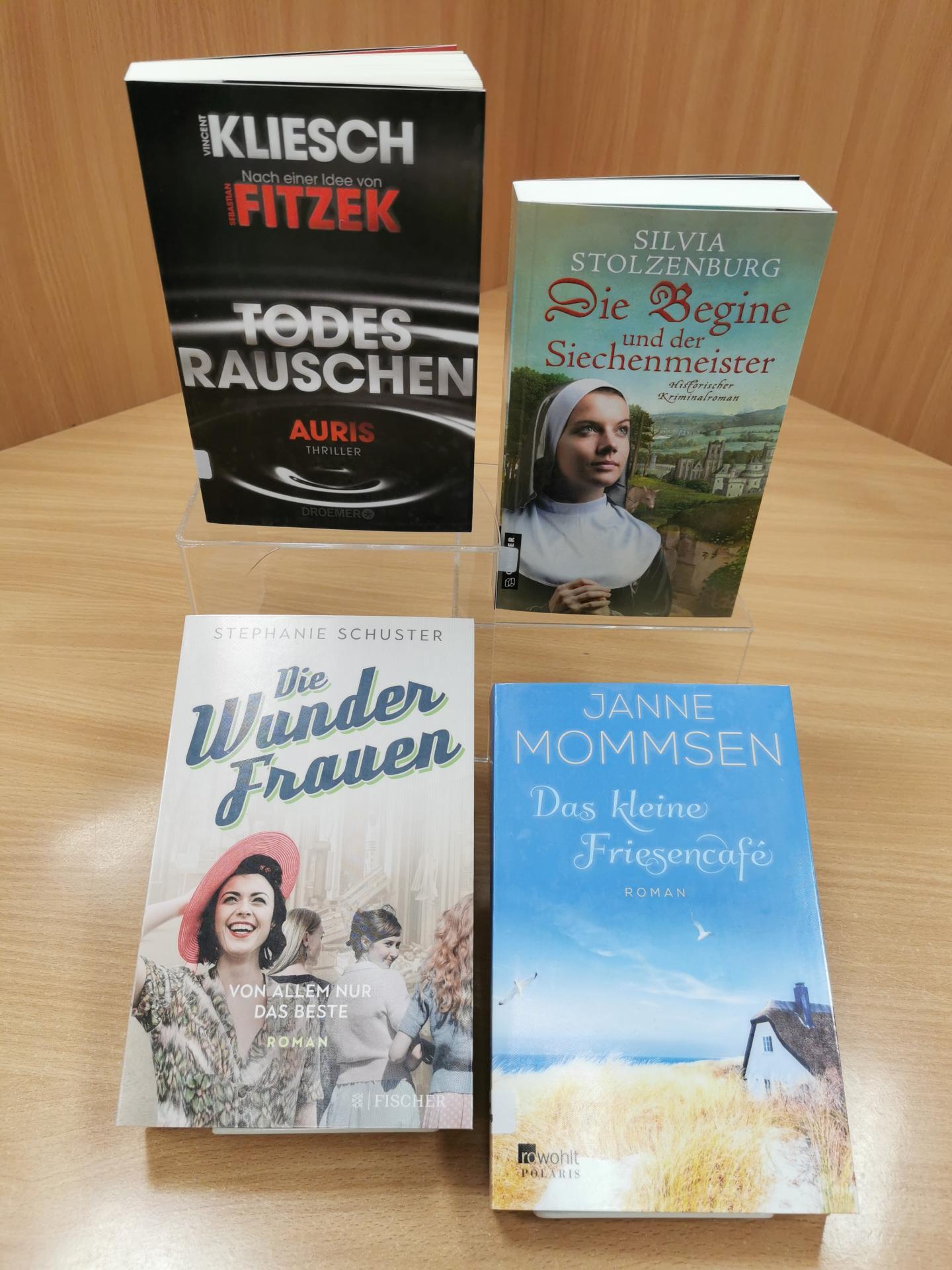 Neues im April21 Romane