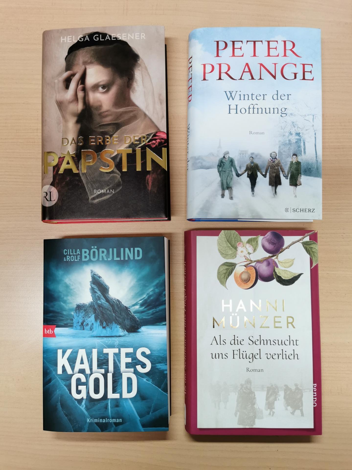 Neues im Dezember Romane