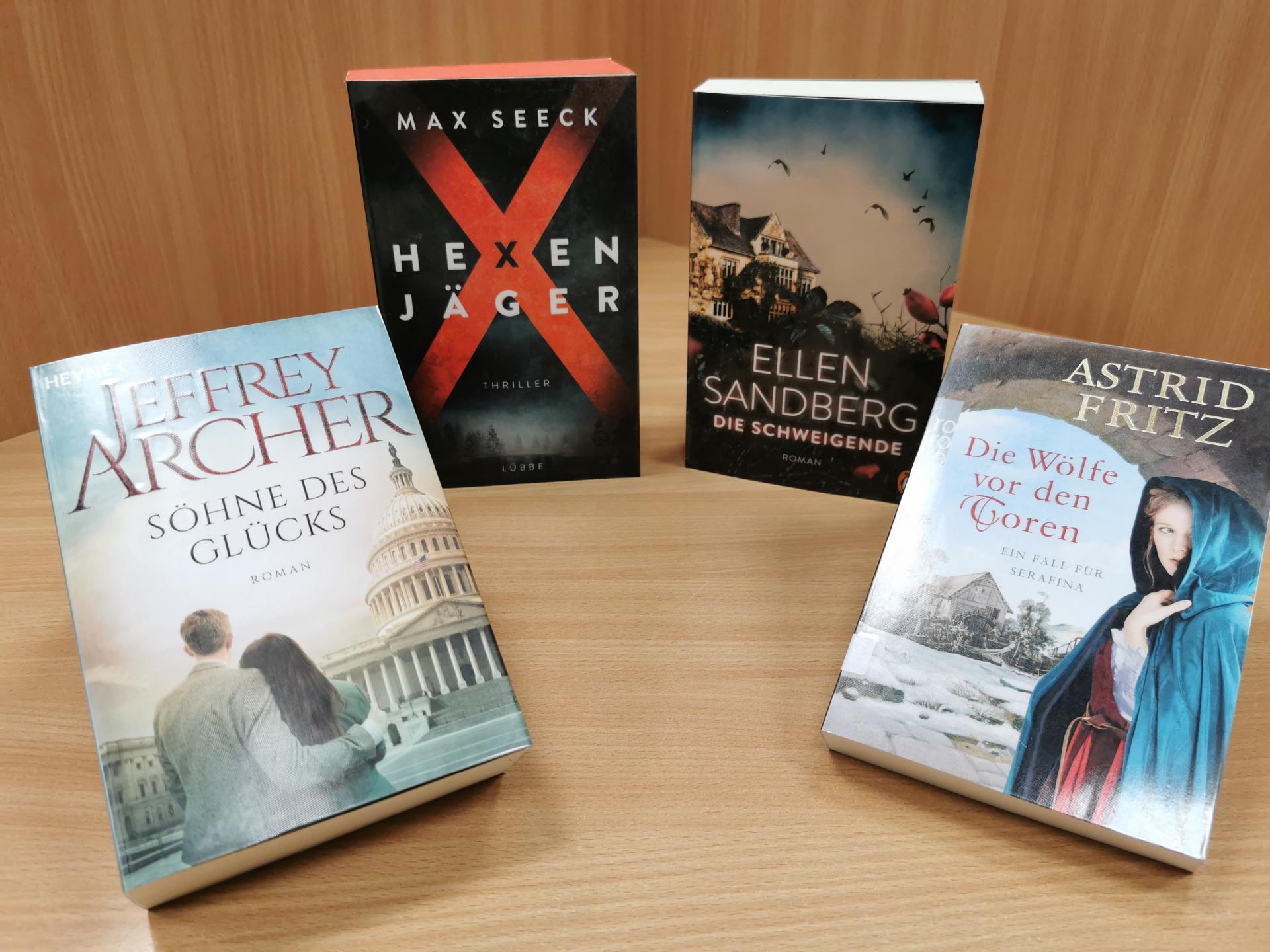 Neues im Februar21 Romane