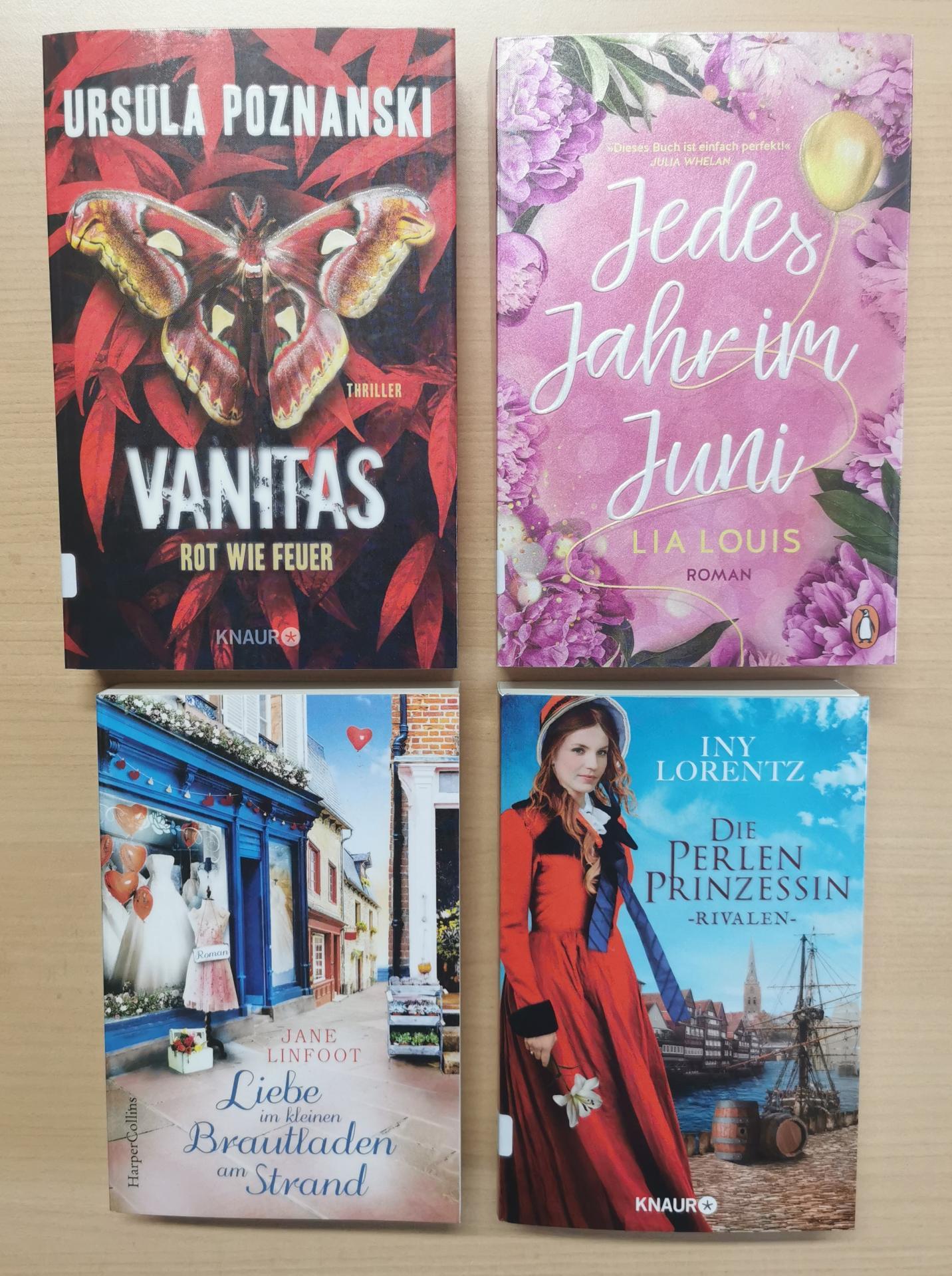 Neues im Mai21 Romane
