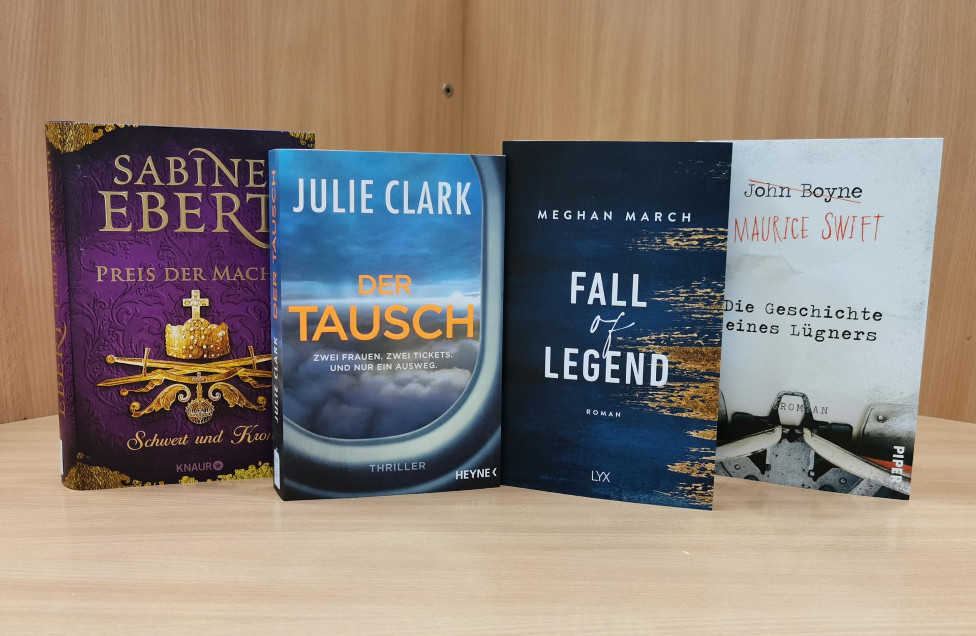 Neues im Januar21 Romane