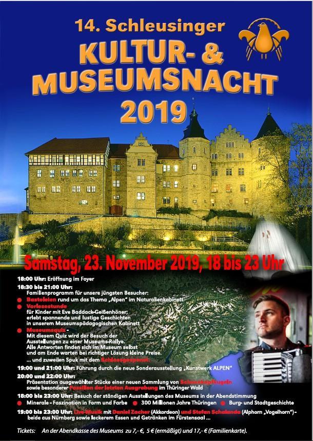 Plakat Museumsnacht 2019