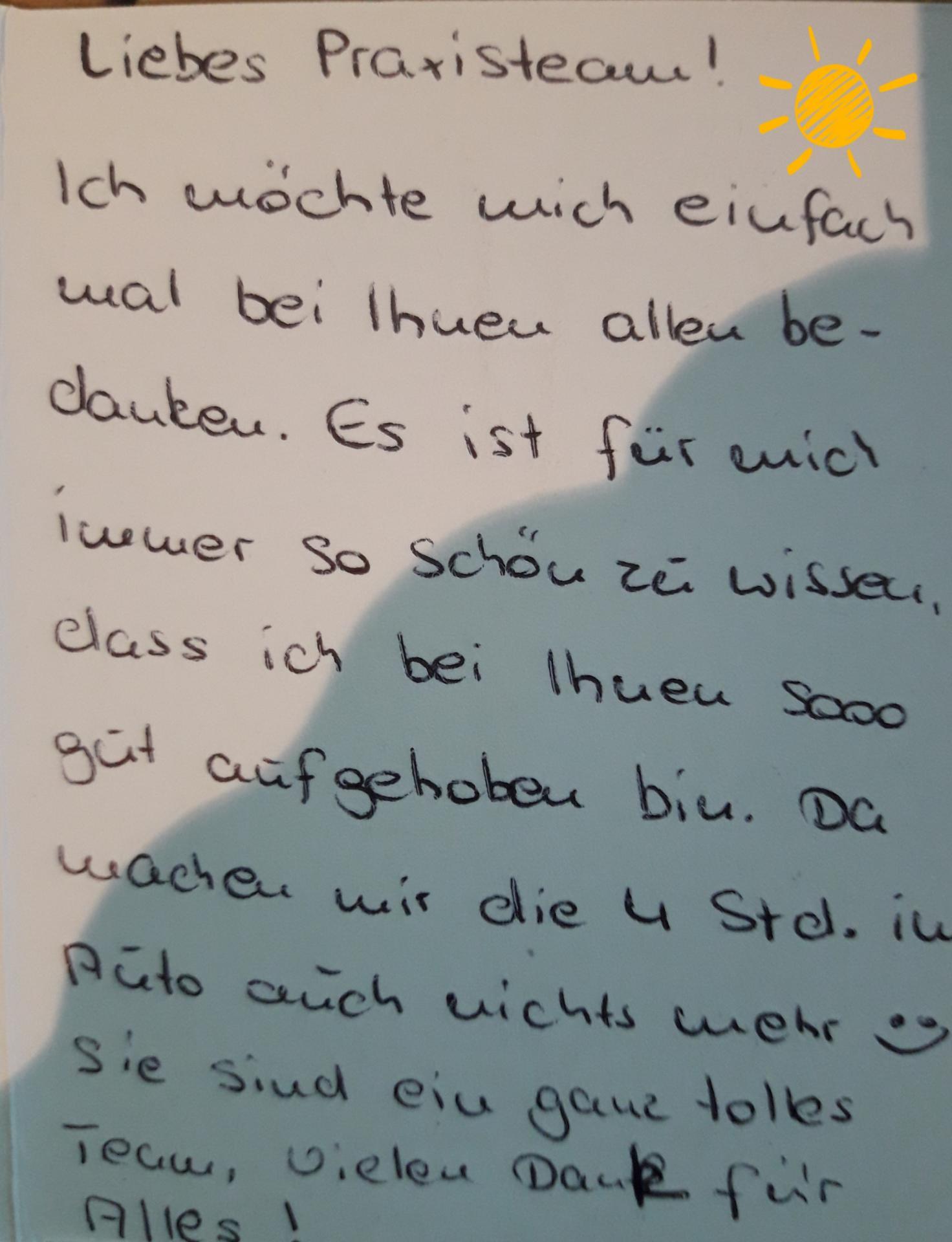 Nette Briefpost aus Emden