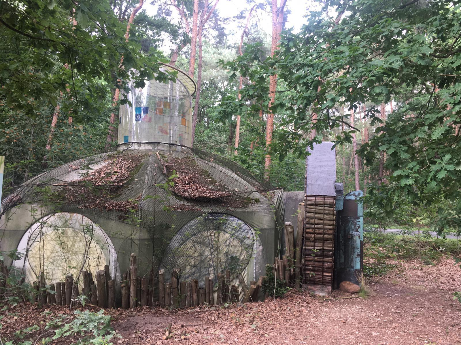 Haus der Sonne/ Warper Skulpturenpfad 1